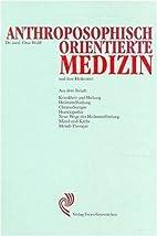 Anthroposophisch orientierte Medizin und…