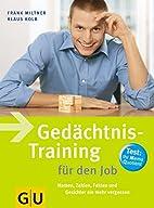 Gedächtnis-Training für den Job: Namen,…