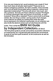 BMW Art Guide by Independent Collectors by…