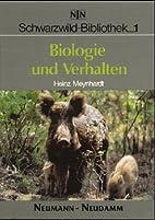 Schwarzwild-Bibliothek, Bd.1, Biologie und…