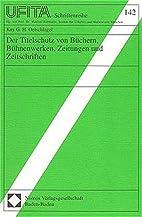 Der Titelschutz von Büchern, Bühnenwerken,…