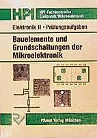 Elektronik II. Bauelemente und…