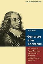 Der erste aller Christen: Zur deutschen…