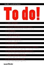 To do! by Endre Lund Eriksen