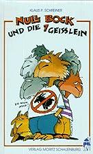 Null Bock und die sieben Geißlein. Deutsche…