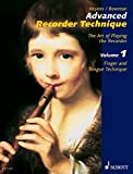 Heyens, Gudrun: Advanced Recorder Technique: Finger And Tongue Technique