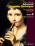 Heyens, Gudrun: Advanced Recorder Technique: Breathing And Sound