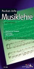 Pocket-Info, Musiklehre by Hugo Pinksterboer