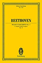 Concerto No. 1 in C, Op. 15 for the Piano by…
