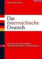 Das österreichische Deutsch: Wie wir uns…