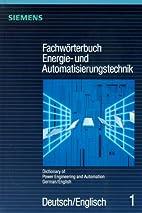Fachwörterbuch Energie- und…