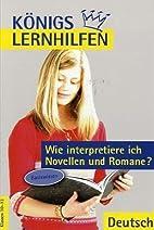 Bange Lernhilfen: Deutsch. Wie interpretiere…