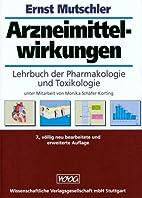 Arzneimittelwirkungen. Lehrbuch der…