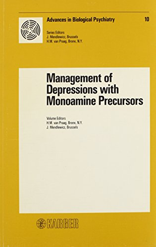 management-of-depressions-with-monoamine-precursors-symposium-stockholm-june-1982-advances-in-biological-psychiatry