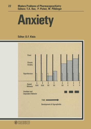anxiety-modern-trends-in-pharmacopsychiatry-vol-22