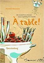 A table! Die wunderbaren Rezepte meiner…