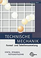 Technische Mechanik Formel- und…