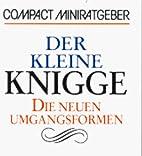 Der kleine Knigge by Cornelia Osterbrauck