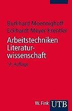 Arbeitstechniken Literaturwissenschaft by…