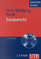 Europarecht by Hans-Wolfgang Arndt