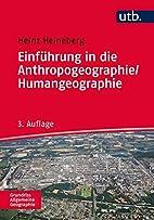 Einführung in die Anthropogeographie /…
