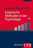 Empirische Methoden in der Psychologie by…