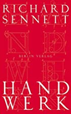 Handwerk by Richard Sennett