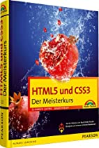 HTML5 und CSS3 by Bruce Hyslop Elizabeth…