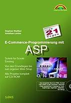 E-Commerce-Programmierung mit ASP in 21…