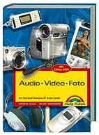 Audio Video Foto Kompendium. Microsoft Media…