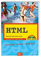 Easy HTML by Christian Wenz