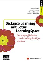 Distance Learning mit Lotus LearningSpace .…