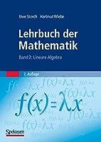 Lehrbuch der Mathematik, 4 Bde., Bd.2,…