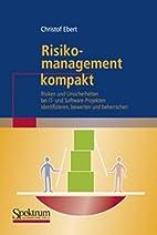 Risikomanagement kompakt: Risiken und…