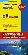 Country map Falk : Slovenia, Croatia, Bosnia…