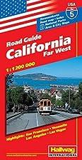 Hallwag California, Far West Road Map…