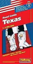 Hallwag USA Road Guide, No.9, Texas (USA…