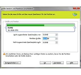 System Go! Partition Manager X3, Abbildung #03
