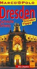 Marco Polo Reiseführer Dresden, Sächsische…
