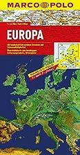 Länderkarte Europa physisch 1:2,5 Mio.…