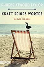 Kraft seines Wortes by Phoebe Atwood Taylor