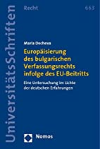 Europäisierung des bulgarischen…