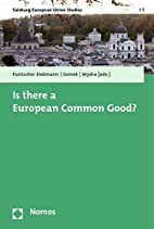 Is there a European Common Good? (Salzburg…