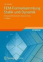 FEM-Formelsammlung Statik und Dynamik:…
