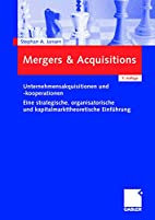 Mergers Acquisitions :…