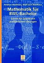 Mathematik für BWL-Bachelor Schritt für…