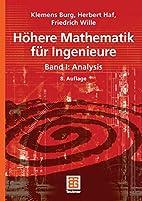 Höhere Mathematik für Ingenieure 1:…