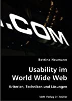Usability im World Wide Web: Kriterien,…