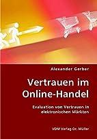 Vertrauen im Online-Handel: Evaluation von…