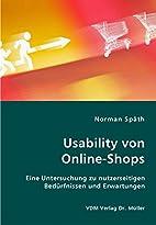 Usability von Online-Shops: EIne…